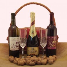 Name Day Basket Deluxe - FOR HER